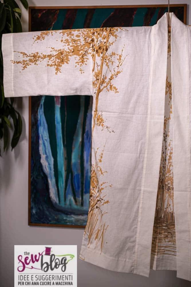 Cucire un kimono romantico sewshop 62