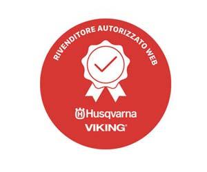 Husqvarna logo Rivenditore Autorizzato Web